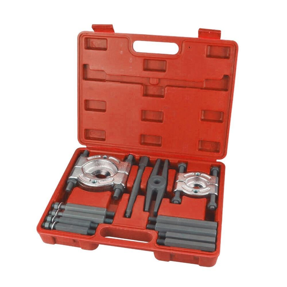 laidong km385bt the main bearing caps set part number km485qb 01112 l375 01110 01111 2 SIZE Bearing Separator Set Bearing Removal Tool Set 12pcs Bar-Type Splitter Gear Puller Fly Wheel Tool Kit