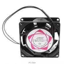 새로운 SF8025AT 2082HSL 8025 80mm 슬리브 베어링 220-240V AC 2 선식 케이스 냉각 팬