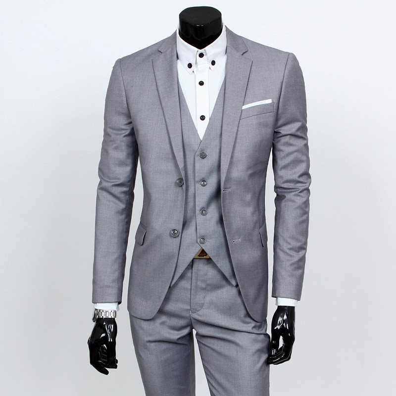 MRMT 2021 Brand Men's Three-piece Suit Casual for Male Suit Outer Wear Clothing Garment