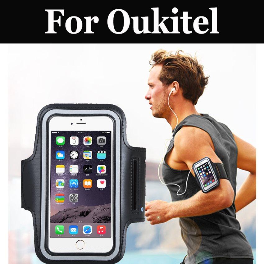Brazalete deportivo titular caso gimnasio correr Jogging correa para Oukitel U7 Max U16 MAx C5 Pro C5 U22 K6000 más C8 K3 K4000 Plus