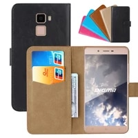 luxury wallet case for digma vox s502f 3g pu leather retro flip cover magnetic fashion cases strap