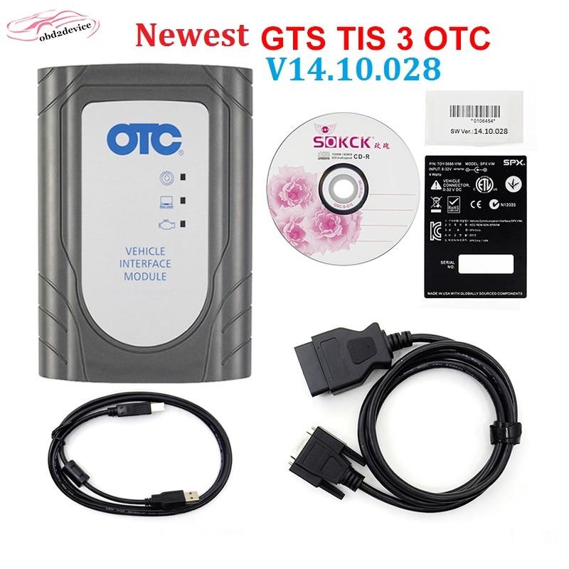 Nuevo V14.30.023 OTC TIS3 reprogramación Flash para Toyota Cars Scanner más función de diagnóstico software de actualización gratuita en línea