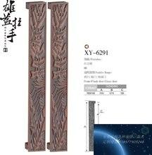 중국어 골동품 청동 조각 현대 럭셔리 도어 핸들/핸들 유리 도어 도어 핸들