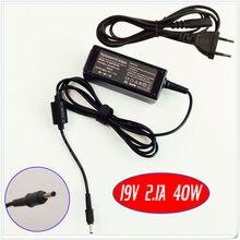 19 V 2.1A Chargeur Adaptateur secteur Pour Samsung AD-4019S AD-4019SL ADP-40MH AB NP900X3A-B07US NP900X3A-A02U NP900X3A-A02US Ordinateur Portable