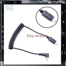 Câble de déclenchement dobturation à distance 2.5mm reliant pour Nikon DF D750 D7100 D5500 D5300 D3200 D3300 D600 D610 D90 câble 3N N3 DC2 M