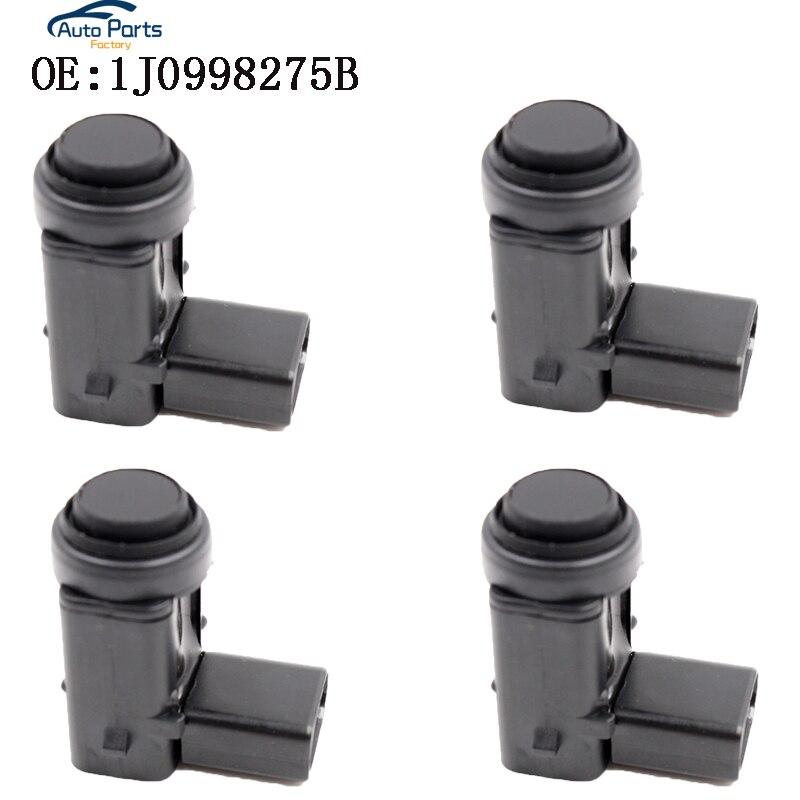 4 Uds aparcamiento PDC Sensor Radar de marcha atrás para Volkswagen 1J0998275B 3D0919275D 3D0998275A 1K0919275 1J0998275B