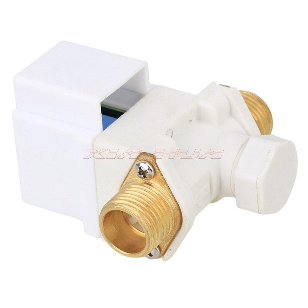 "Válvula de solenoide eléctrica DC 6V AC 220V 1/2 ""para válvula de solenoide del calentador de agua Solar normalmente cerrado"