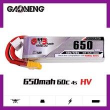 Gaoneng GNB – batterie Lipo 4s 650mAh, 15.2V, 60C/120C, HV, avec prise XT30, pour Drone de course Beta85X Whoop Quadcopter FPV, pièces RC