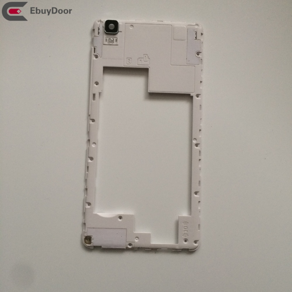 Used  Back Frame Shell Case + Camera Glass Lens For Bluboo Maya MTK6580A 5.5''HD 1280x720 Free Shipping enlarge