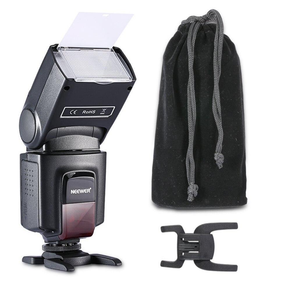 Neewer TT560 Вспышка для Canon Nikon Sony Panasonic Olympus Fujifilm SLR цифровых камер с одноконтактом Горячий Башмак
