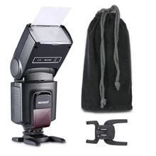 Neewer TT560 Flash Speedlite para Canon 6D/60D/700D/Nikon D7100/D90/D7000/D5300/todas las cámaras con zapata estándar + Softbox