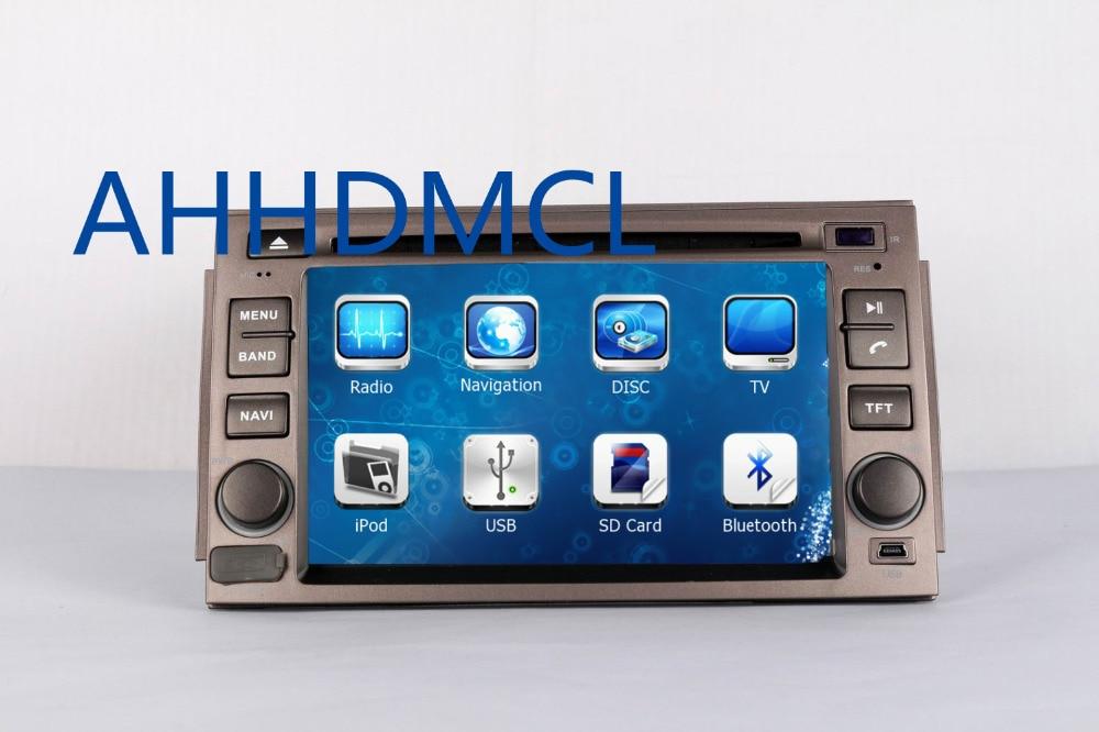 AHHDMCL Reprodutor multimídia Carro DVD Estéreo Rádio Áudio Navegação GPS Para Hyundai Azera 2005 2006 2007 2008 2009 2010 2011