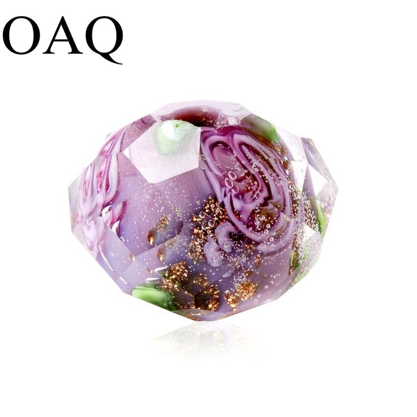Wholesale Beads Beading Craft Wholesale 7-9mm Charm Glass Lampwork Beads Handmade Cutting Glass Beads DIY Accessories