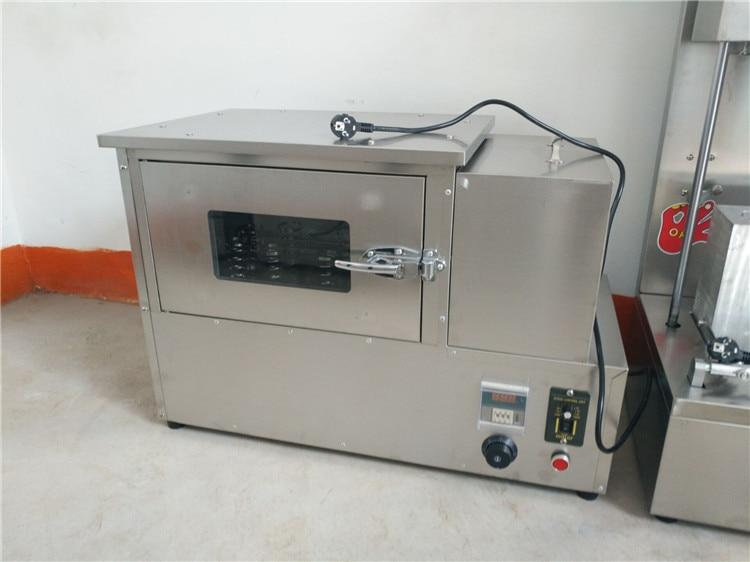 Mini horno transportador de pizza, RE-PB1, de acero inoxidable, 220V, 42kg, suministro de fábrica