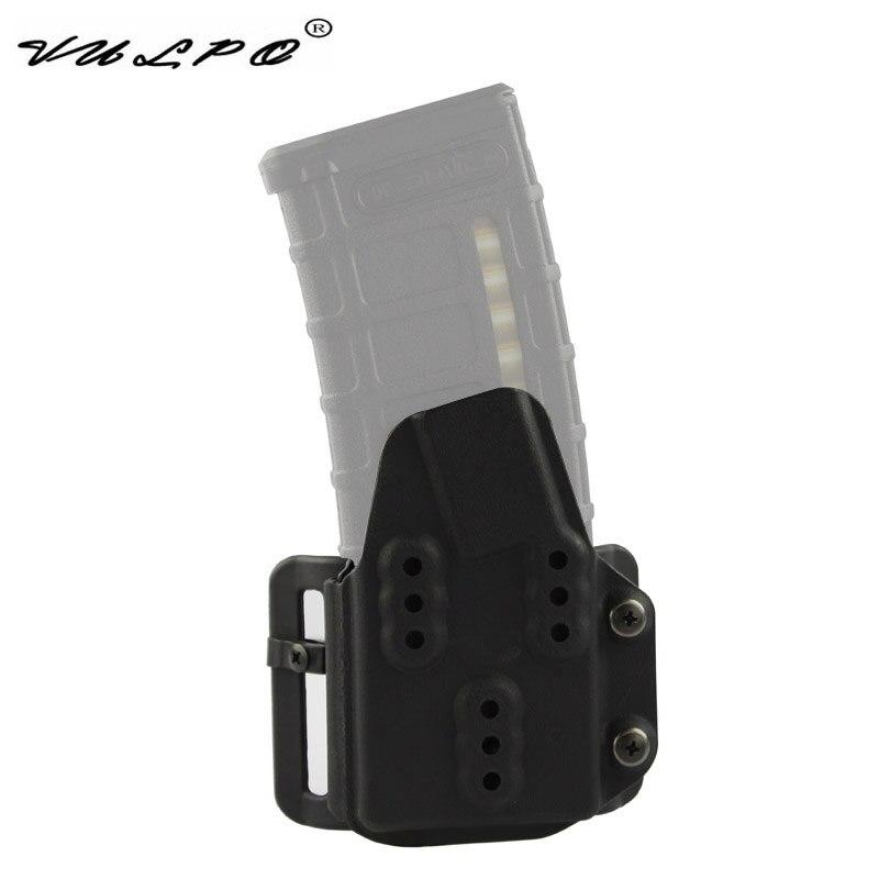 VULPO militar táctico Kydex AR Mag portador 5,56mm bolsa de revista para el Sistema de Correa