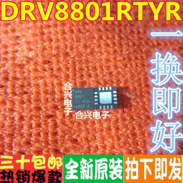 DRV8801RTYR motor controlador chip de control 8801 DRV8801 QFN16 importar original ahora