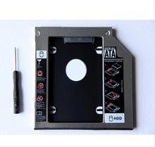 "9,5 мм добавить 2nd SATA 2,5 ""жесткий диск HDD SSD корпус Caddy адаптер для Lenovo IdeaPad Z50-70 B50-70 B50-30"