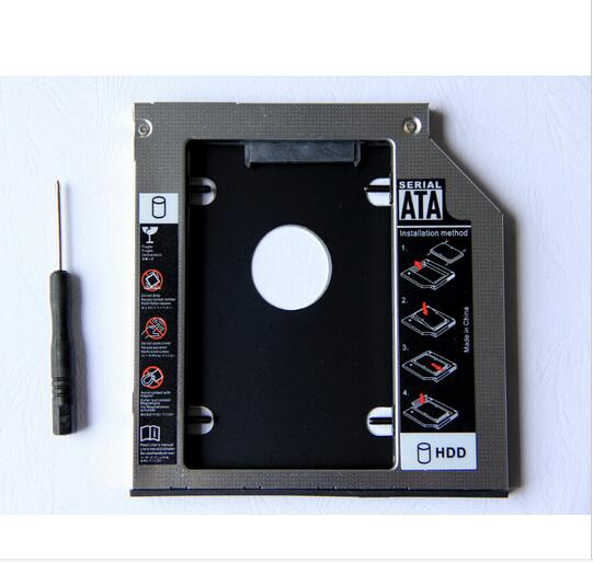 9,5 мм 2nd SATA жесткий диск HDD SSD корпус Caddy для lenovo G500s G505s Ideapad P400 Z500 Z500t Z510 Z510t