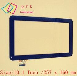 Черный 10,1-дюймовый Планшет ДЛЯ СУПРА M12CG 3G ПК емкостный сенсорный экран стекло дигитайзер панель Бесплатная доставка