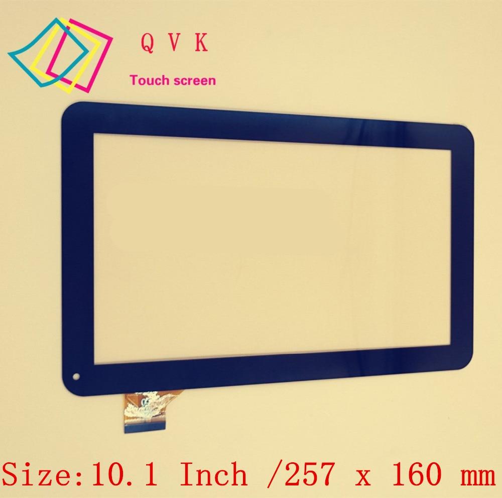 Negro 10,1 pulgadas para Supra M12CG 3G tablet pc pantalla táctil capacitiva panel digitalizador envío gratis