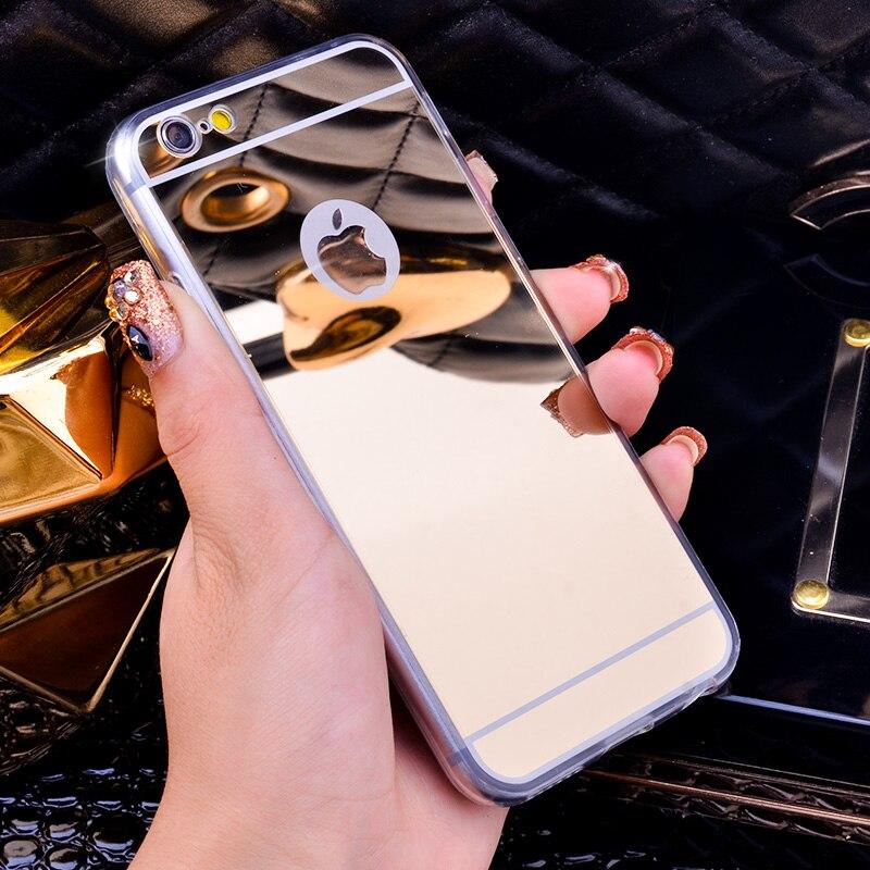 Оригинальный роскошный зеркальный чехол для телефона iPhone XS Max, чехлы для iPhone XR X 6 6S 7 8 Plus 5 5S 5SE, мягкий силиконовый чехол из ТПУ