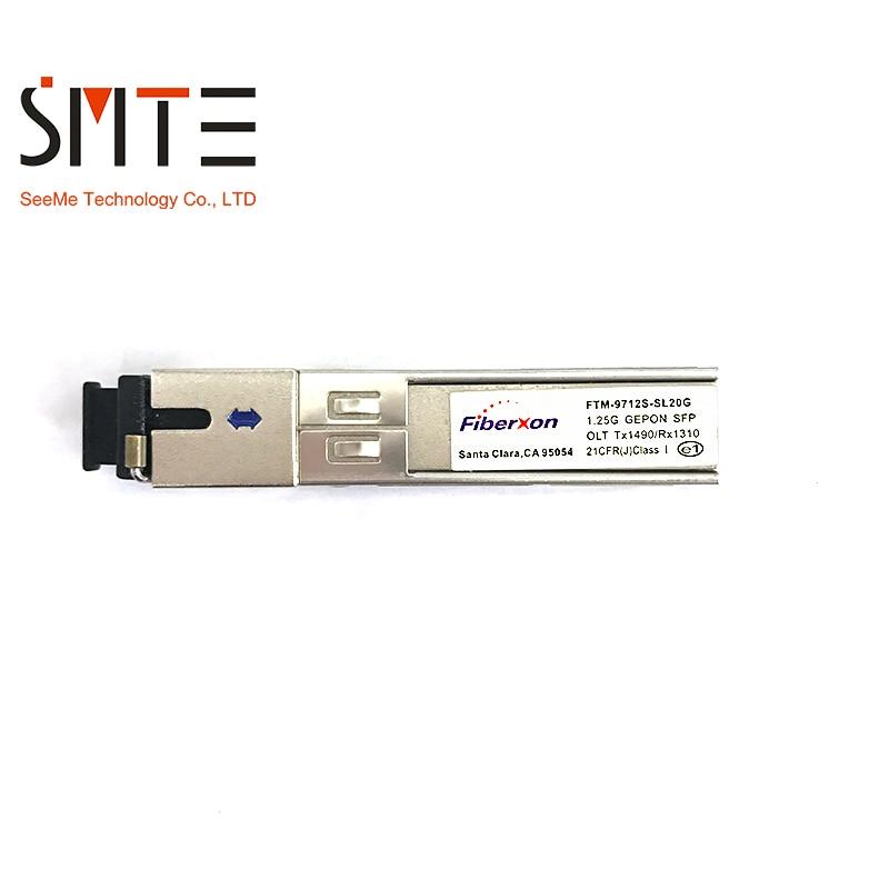 FTM-9712S-SL20G Fiberxon 1,25G GEPON SFP OLT Tx1490/Rx1310 Fiber Optic Ausrüstung Modul