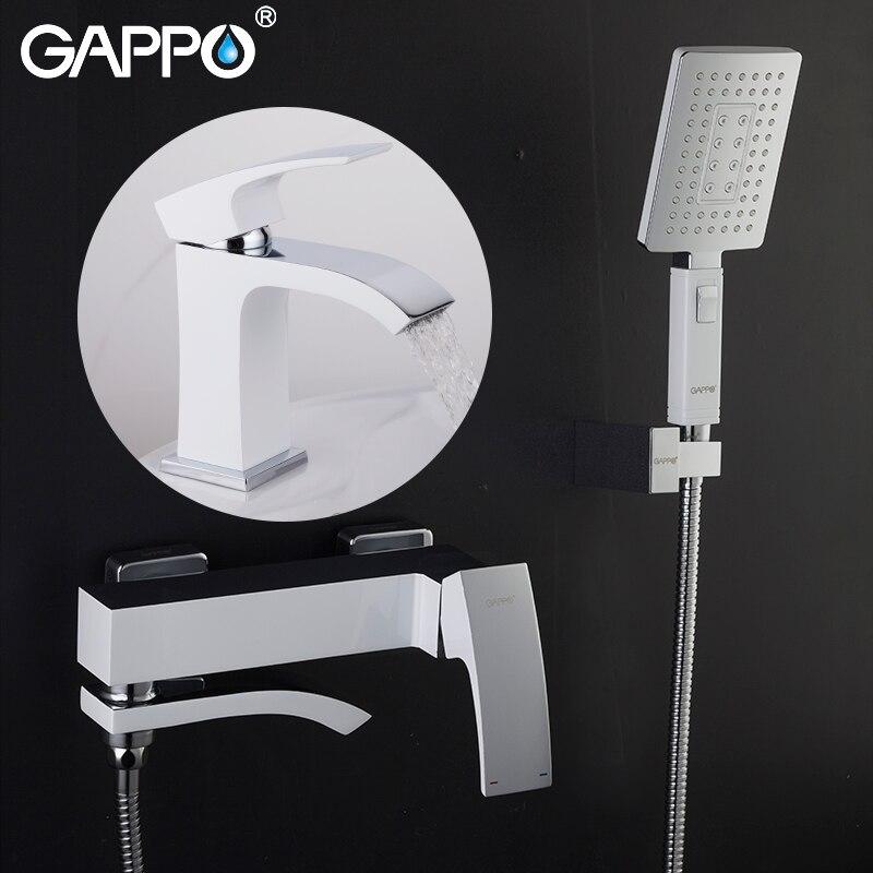 GAPPO حمام صنبور حوض s الحائط حمام صنبور حوض صنبور المياه خلاط صنبور الحمام دش حوض الحنفيات