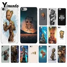 Yinuoda gardiens de la pour Galaxy Marvel housse de téléphone Coque pour iPhone 8 7 6 6S Plus 5 5S SE XR X XS MAX 10 Coque