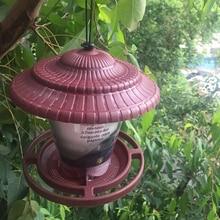 Bird Feeders  Small Waterproof Wild Bird Feeder Hanging for Garden Yard House Outdoor Hanging Decoration Withstand Wind and Rain