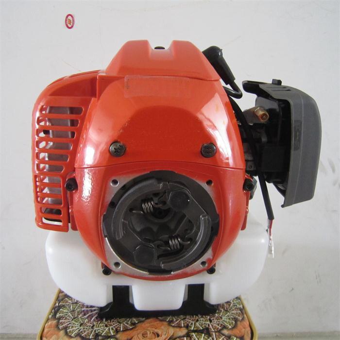 Motor a Gasolina Cortador de Grama Cortador de Escova Pulverizador Apoio G45l Grama Trimmer Reverso Rotação Anti-horário 2t Hus 443r