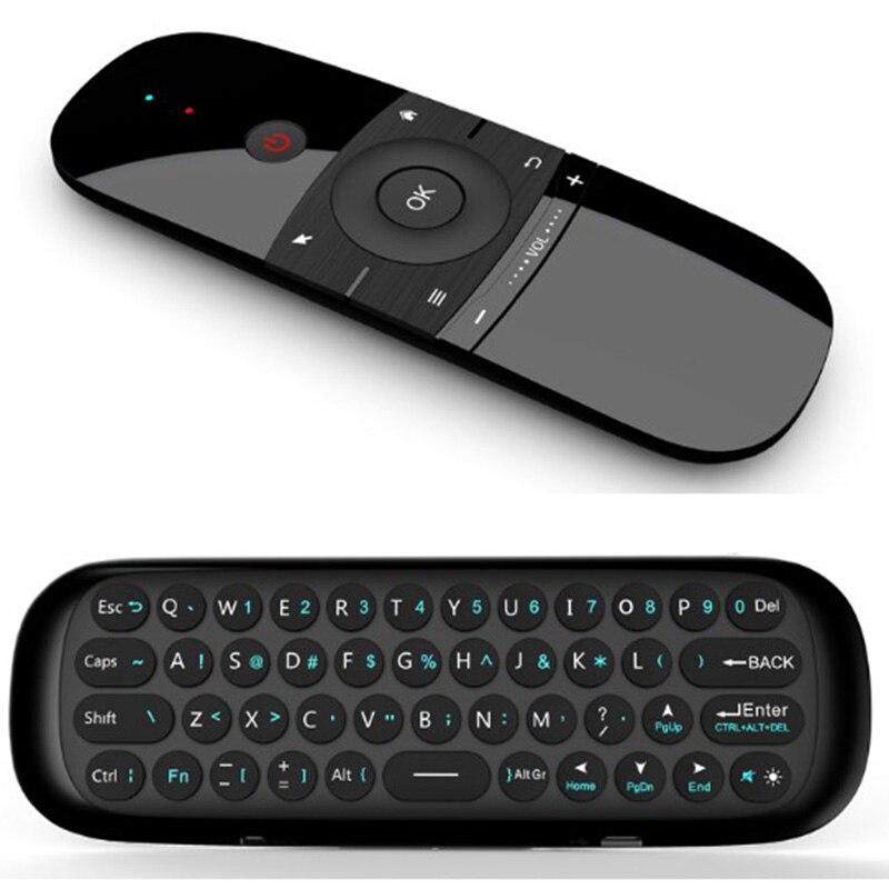 MX3 زائد 57B 2.4 جرام اللاسلكية Somatosensory تحلق الماوس على الوجهين الجوي لوحة مفاتيح صغيرة وحدة التحكم عن بعد في الماوس USB