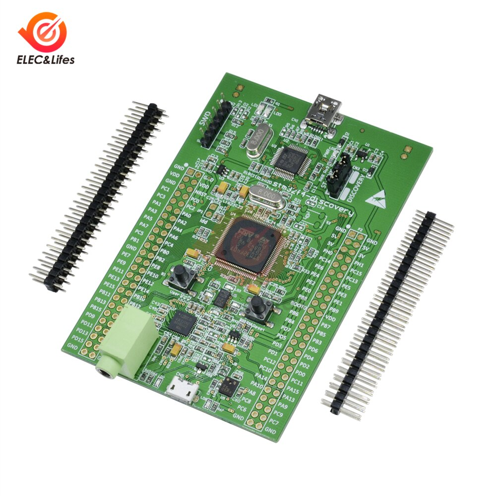 1 шт. Stm32f4 Discovery STM32F407 Cortex-m4 1 Мб модуль для разработки вспышки ST-link V2 SWD 3V/5V Micro-AB USB интерфейс