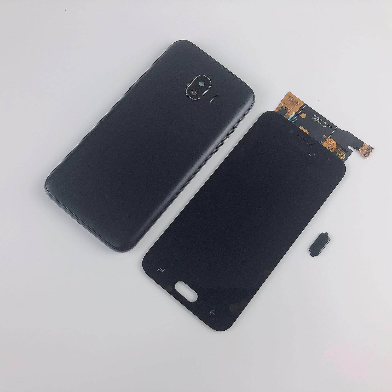 Para Samsung Galaxy J2 Pro 2018 J250 LCD pantalla táctil digitalizador pantalla + carcasa cubierta de Marco medio + batería cubierta trasera