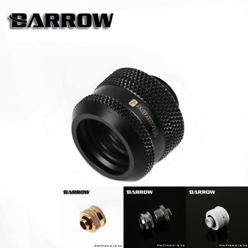 Accesorios de tubo rígido Barrow TYKN-K16V4, OD16mm, adaptadores G1/4 para tubos duros OD16mm