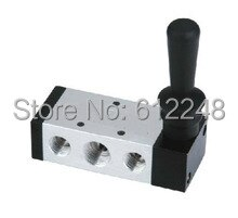 AirTAC Hand Lever Valve 5/2 way air control valve 4H410-15