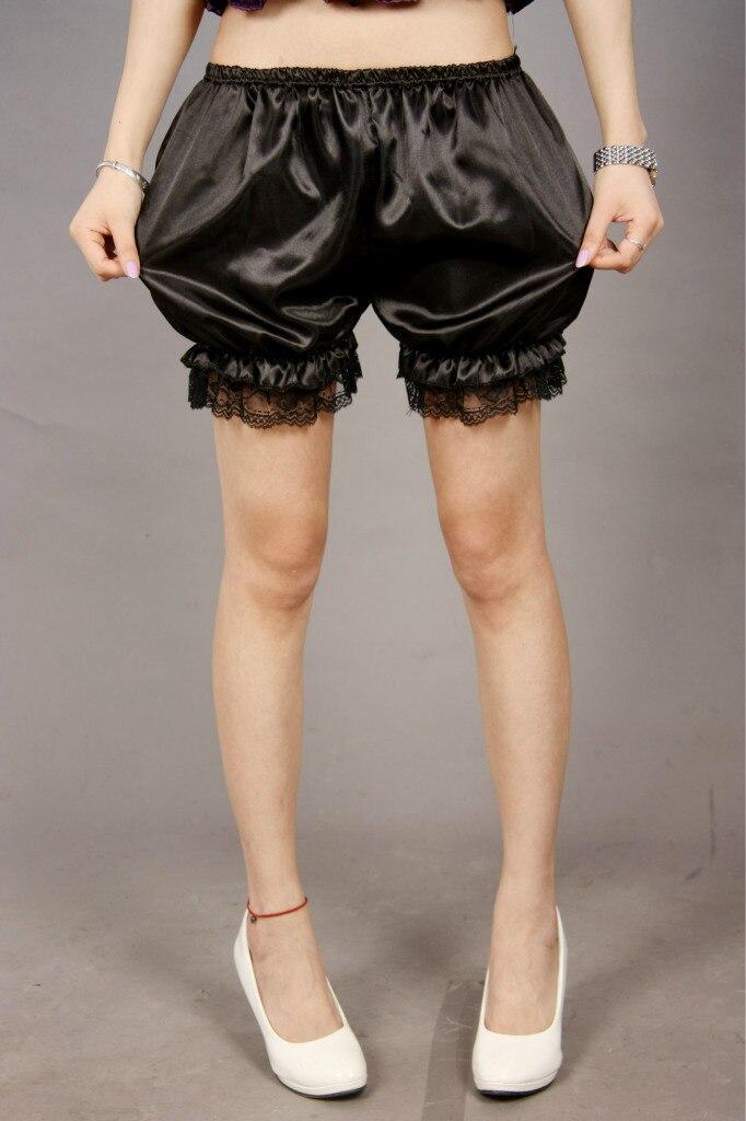 1 piece 2020 Fashion Women shorts lace decoration pumpkin woman sleepwear pajama bloomers white black red new