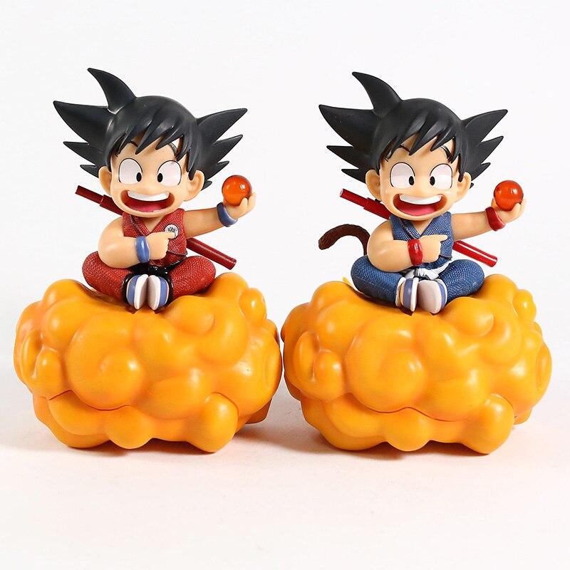 Dragon Ball Z Kid Son Goku на Nimbus Cloud ПВХ фигурка Коллекционная модель игрушки