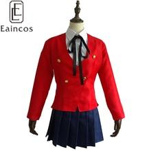 Anime tigre Dragon Toradora Aisaka Taiga Cosplay Costume de fête robe filles école uniforme taille personnalisée