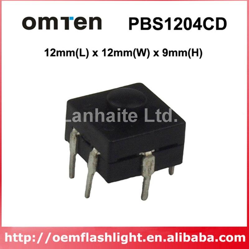 OmTen PBS1204CD inversa linterna de 12mm (L) x 12mm (W) x 9mm (H) (5 uds)