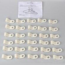 30 шт./компл. прочные для гардероба компактные вешалки Крючки пластмассовый крючок для пальто вешалка для шкафа органайзер для хранения спальни