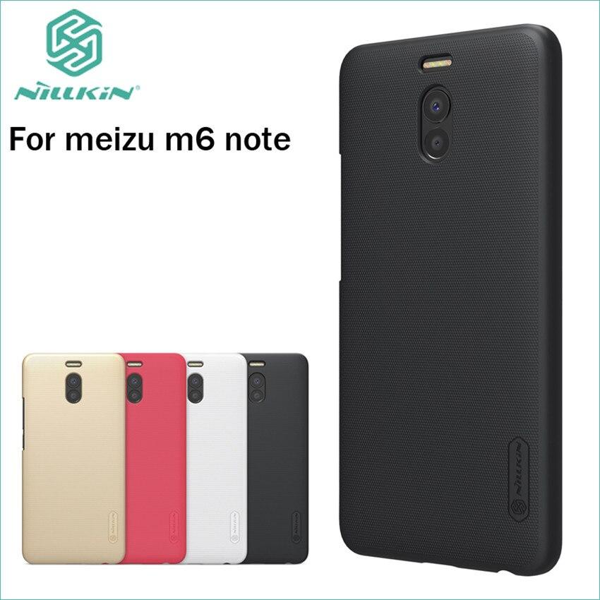 Carcasa para Meizu M6 Note, carcasa Nillkin, gran calidad, súper escudo esmerilado para Meizu M6 Note 5,5