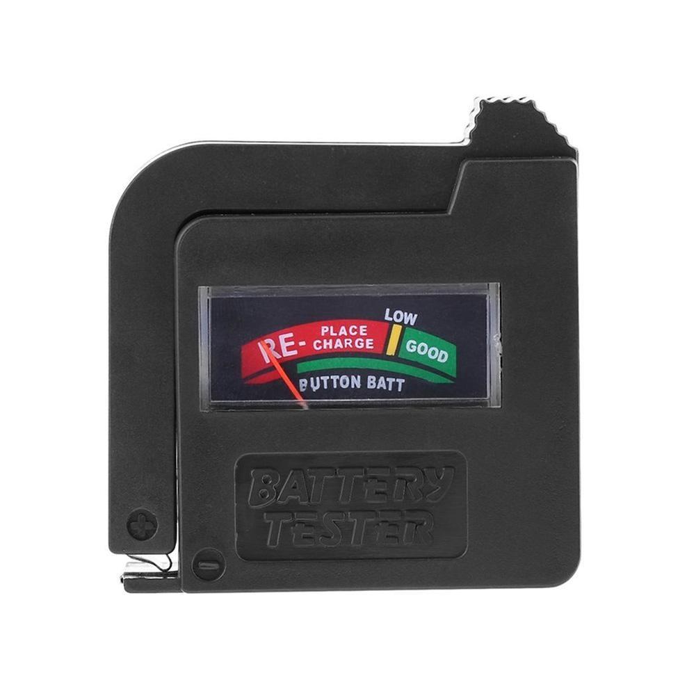 Probador de batería BT860 actualizado, probador Universal de voltios de batería AA AAA CD 9 V, probador de batería de instrumentación de celda de botón