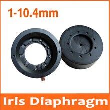 100 sztuk 1-10.4 MM Zoom optyczny przysłona przysłony skraplacza skraplacza 9 ostrza do mikroskopu cyfrowego aparatu fotograficznego światła regulator