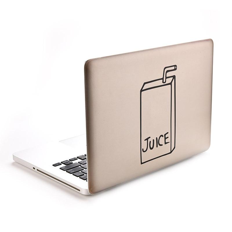 Виниловая наклейка с соком для MacBook Air/Pro, 11, 13, 15 дюймов, 1 шт.