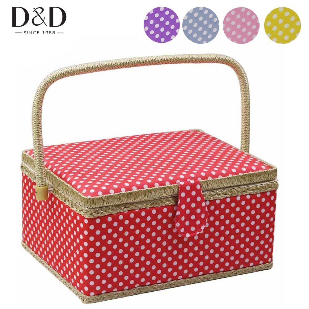 Купить-один-получить-бесплатно швейный набор аксессуары домашняя швейная корзина DIY хлопок ткань ремесла многофункциональная коробка для ...