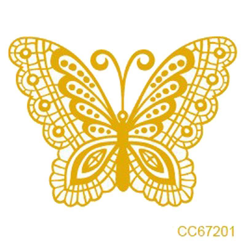 Pegatinas de tatuaje personalizadas desechables impermeables para el Medio Ambiente FE2311 Dropship