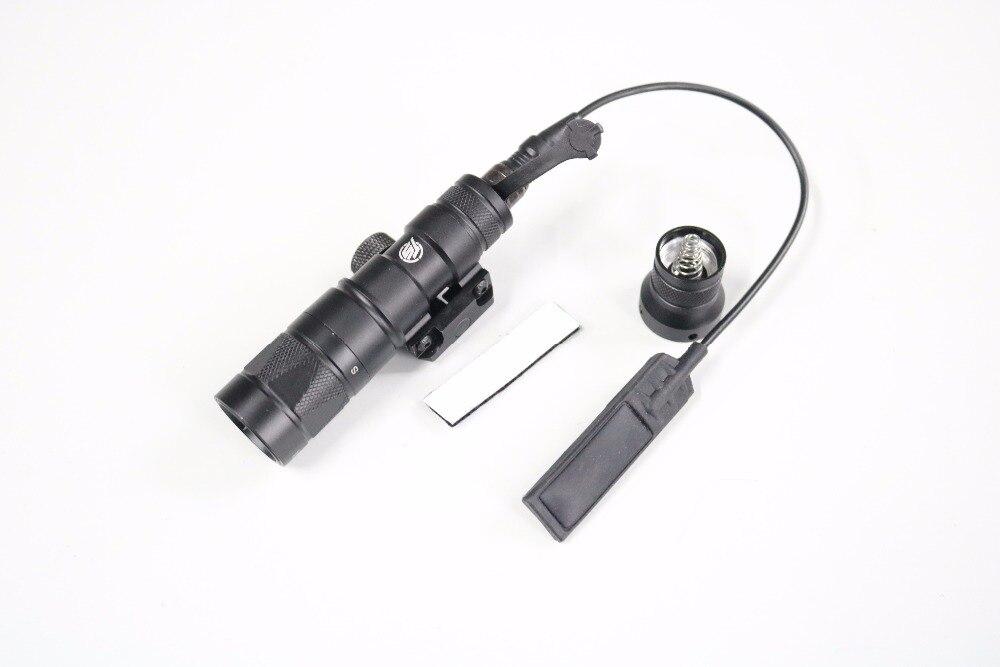 Táctico-cielo Airsoft M300V Mini explorador arma luz BK