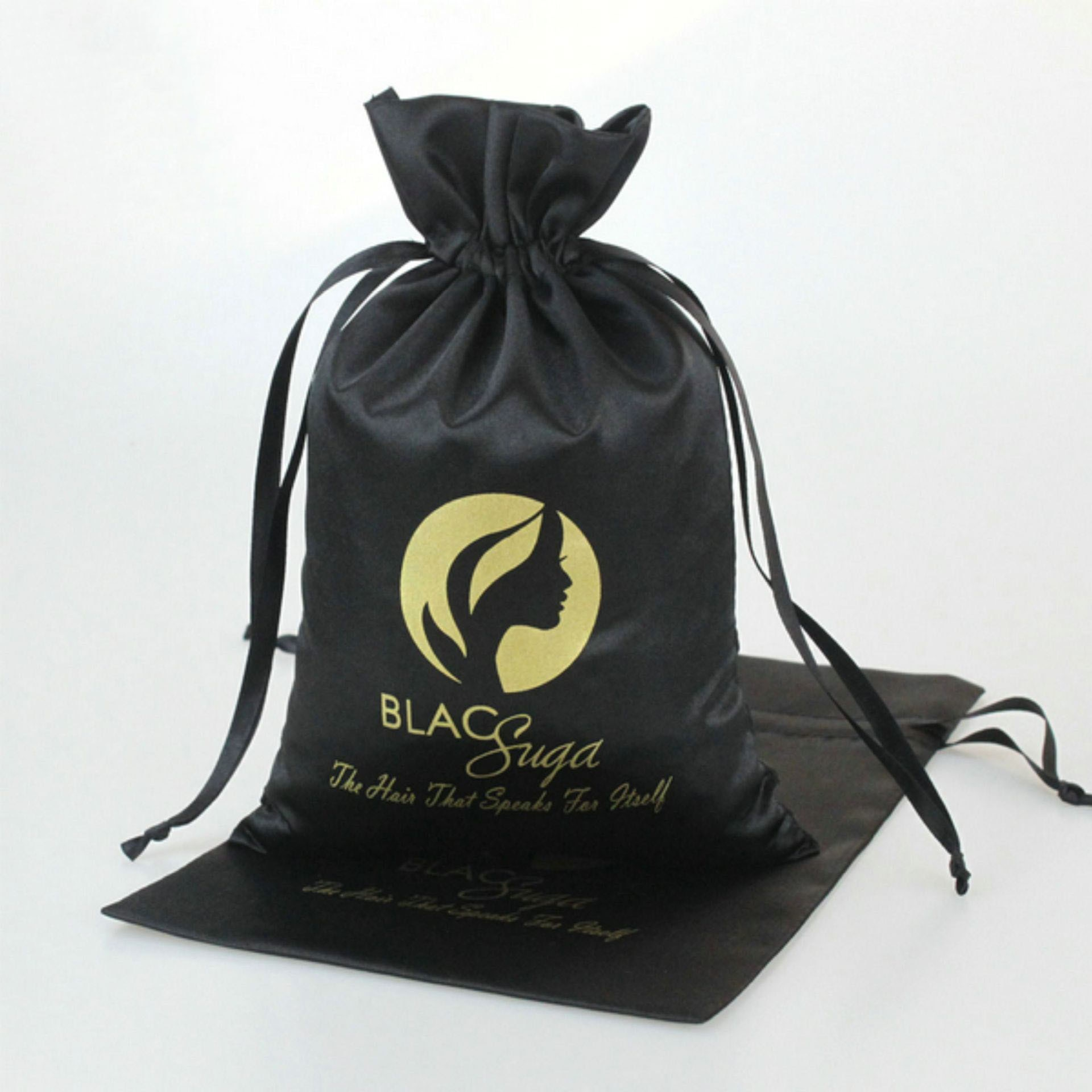 Factory direct sale silk cloth satin bag lipstick accept color Ding bag cosmetics mask essential oil packing bag