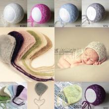 Newborn photography accessories hat mohair, soft hat, newborn photography background