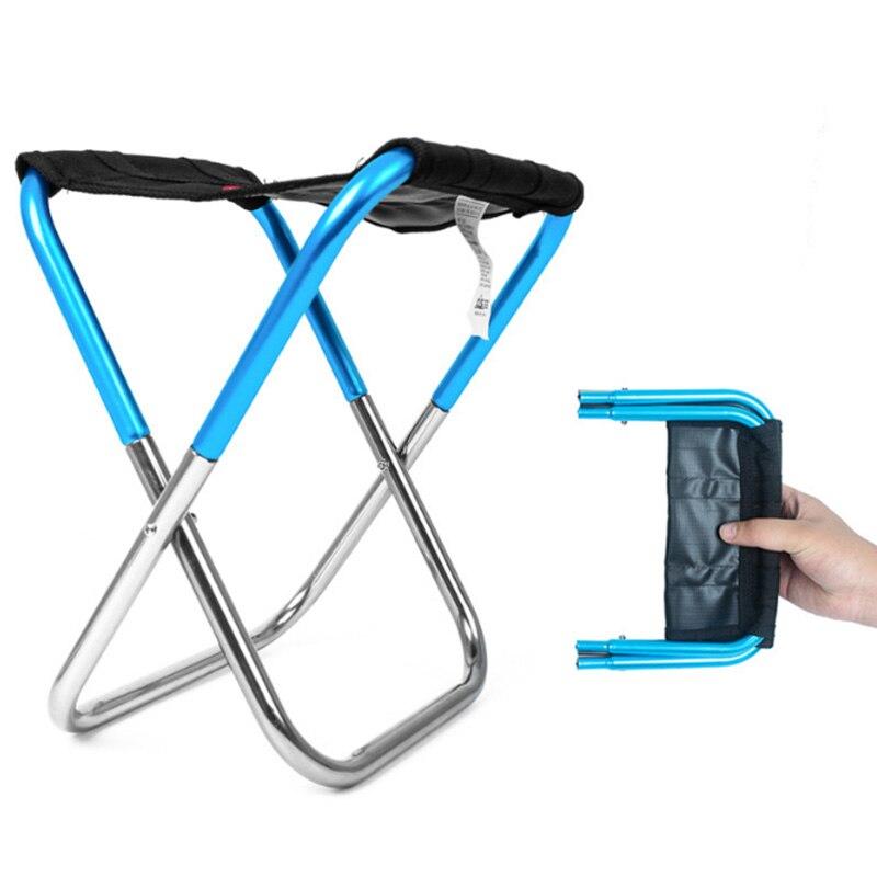 Складной стул для рыбалки и пикника легкий складной алюминиевый кемпинга отдыха